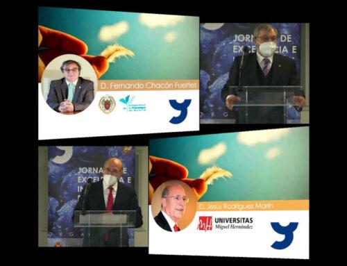 Entregado el Premio José Luis Pinillos a la Excelencia en Psicología 2020 a los académicos D. Fernando Chacón Fuertes y D. Jesús Rodríguez Marín