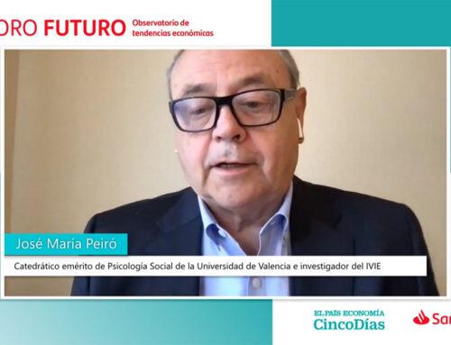 El Prof. José María Peiró ha participado en el Debate en el Foro de Cinco Días y El País Economía sobre la digitalización, la educación y la gestión del talento