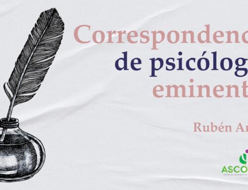 Lanzamiento del libro de Rubén Ardila «CORRESPONDENCIA DE PSICÓLOGOS EMINENTES» en Colombia