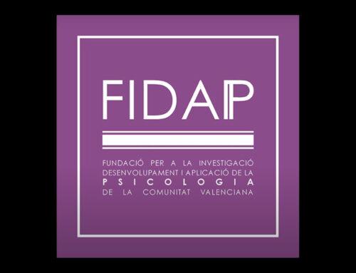 Presentación de la Fundación para la Investigación, Desarrollo y Aplicación de la Psicología de la Comunitat Valenciana (FIDAP)